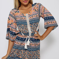 Lifted Playsuit - Print
