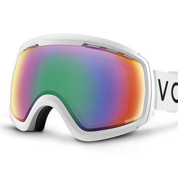 VonZipper - Feenom NLS White Satin Snow Goggles / Wildlife Lenses