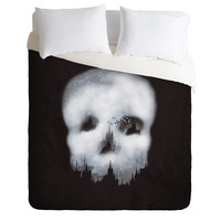 Viviana Gonzalez Dark City Duvet Cover