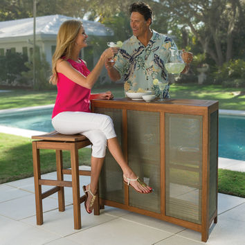 The Fortaleza Folding Outdoor Bar