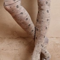 Tintoretta Tannenbaum Tights in Light Grey Size: