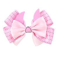 Disney Winnie The Pooh Piglet Cosplay Hair Bow