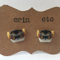 Handmade Plastic Fandom Earrings - Cartoon - Voltron