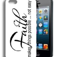Religious Christian Cute Quote Iphone 5 and 5s Case
