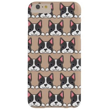 Cute Boston Terrier Phone Case Barely There iPhone 6 Plus Case