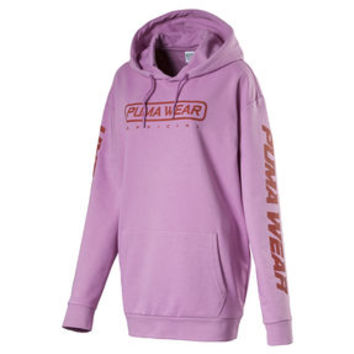 Evolution Women's Long Hoodie | Crocus | PUMA Clothing | PUMA United Kingdom
