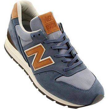 New Balance Men M996dcc Distinct Weekender Made In Usa (blue / Chambray)