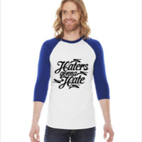 Haters Gonna Hate this -  3/4 Sleeve Raglan Shirt