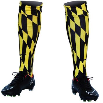 Maryland Flag Lord Baltimore Soccer Socks