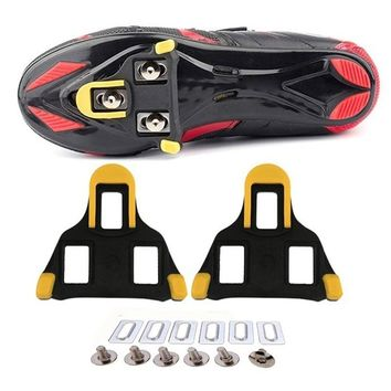 Outdoor bicycle accessories Riding shoes self-locking Iron bicycle foot support Cleats Locking Plate Splint for Bike Pedal
