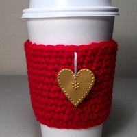 Coffee Cup Cozy, Coffee Sleeve, TOGO Cup Cozy, Crochet Coffee Cup Cozy, Tea Cup Sleeve