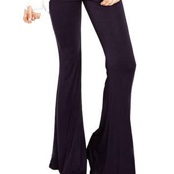 Michael Lauren Mars Bell Pant in Navy