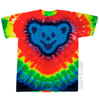 Rainbow Bear Tie Dye T Shirt on Sale for $17.95 at HippieShop.com