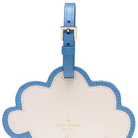 Kate Spade Get Carried Away Cloud Luggage Tag (Blank) ONE