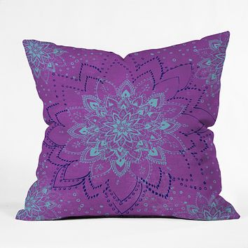 RosebudStudio Purple Dream Throw Pillow