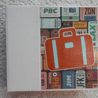 6 x 6 Travel Scrapbook Album