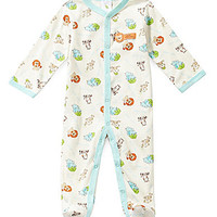 Starting Out Newborn-6 Months Jungle Coverall - Ivory