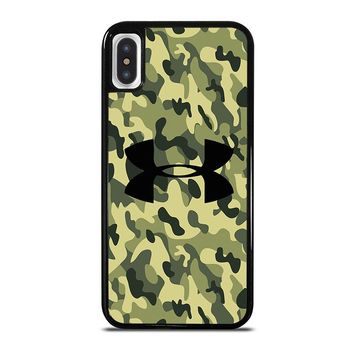 CAMO BAPE UNDER ARMOUR iPhone X Case Cover