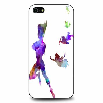 Peter Pan In Watercolor iPhone 5/5s/SE Case