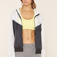 Active Colorblock Jacket | Forever 21 - 2000171447