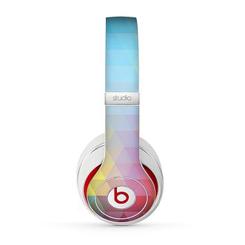 The HighLighted Colorful Triangular Love Skin for the Beats by Dre Studio (2013+ Version) Headphones