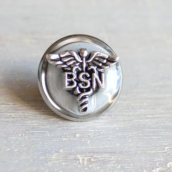 Bachelor of Science Nursing BSN pin - available in additional colors