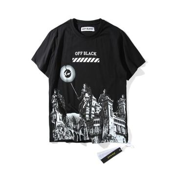 hcxx Off-White  Off-Black Roman Massacre T-Shirt