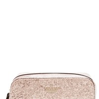 kate spade new york 'glitter bug - ezra' cosmetics case | Nordstrom