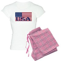 American Flag USA - Patriotic Series Pajamas> PJ's & Under Garments> American Flag Company
