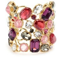 mytheresa.com - Emilio Pucci - CRYSTAL BEAD EMBELLISHED CUFF - Luxury Fashion for Women / Designer clothing, shoes, bags