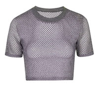 Airtex Crop Tee - Clothing