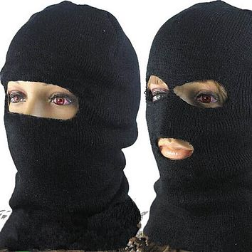 Unisex Winter Warm Full Face Mask Cover Neck Guard Scarf  Shield Ski Cycling