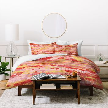Rosie Brown Warm Tropics Duvet Cover