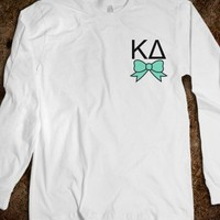 Kappa Delta - Long Sleeve - Bow