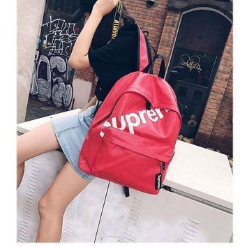 College Comfort Hot Deal On Sale Back To School Casual Stylish Korean Couple Backpack [415613354020]
