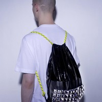 ASSK — Drawstring Backpack with Studs