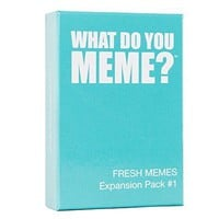 What Do You Meme? Fresh Memes Expansion Pack A Meme Party Game For Friends  FREE US SHIPPING