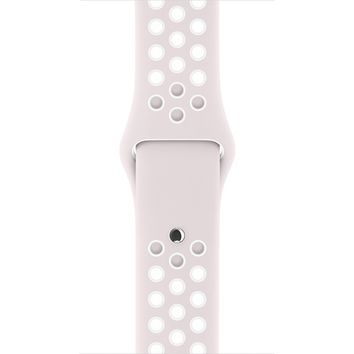 38mm Light Violet/White Nike Sport Band - S/M & M/L