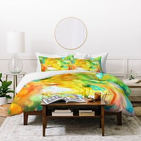Rosie Brown Palette Gone Wild Duvet Cover