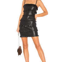 Bailey 44 Dark Wave Mini Dress in Black