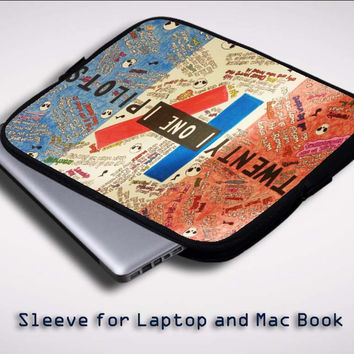 Twenty One Pilots Quotes  X0392 Sleeve for Laptop, Macbook Pro, Macbook Air (Twin Sides)