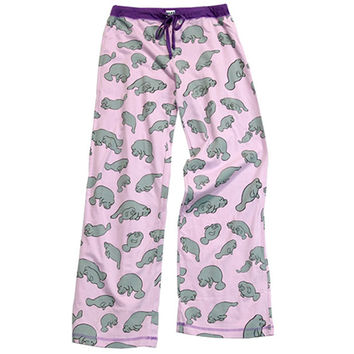 Manatee Yoga Pant | LazyOne - Pajamas, Funny Boxers & Other Fun Wearables!