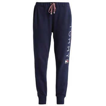 Tommy Hilfiger Trending Unisex Casual Letter Print Gym Sport Running Pants Trousers Sweatpants Trousers I-KWKWM-1