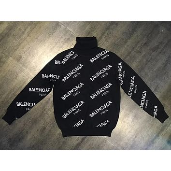 Balenciaga Lover Woman Men Fashion Top Sweater Pullover