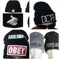 OBEY, DOPE, COMME des FUCKDOWN BEANIES!