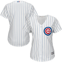 Chicago Cubs Majestic Women's 2015 Cool Base Jersey - White