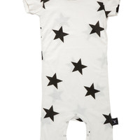Nununu Star Play Suit in White