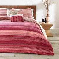 Red Diya Duvet Cover Set - Azalea Skye