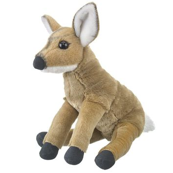 "10"" Baby Mule Deer Fawn Stuffed Animals Floppy Zoo Newborn Animal Conservation Collection"