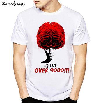 Novelty Geek Brain T Shirt men women Science Chemistry Biology Art Geography Math Physics Cool Fashion Punk T-shirt Funny tops